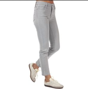 Levi's 712 slim light grey